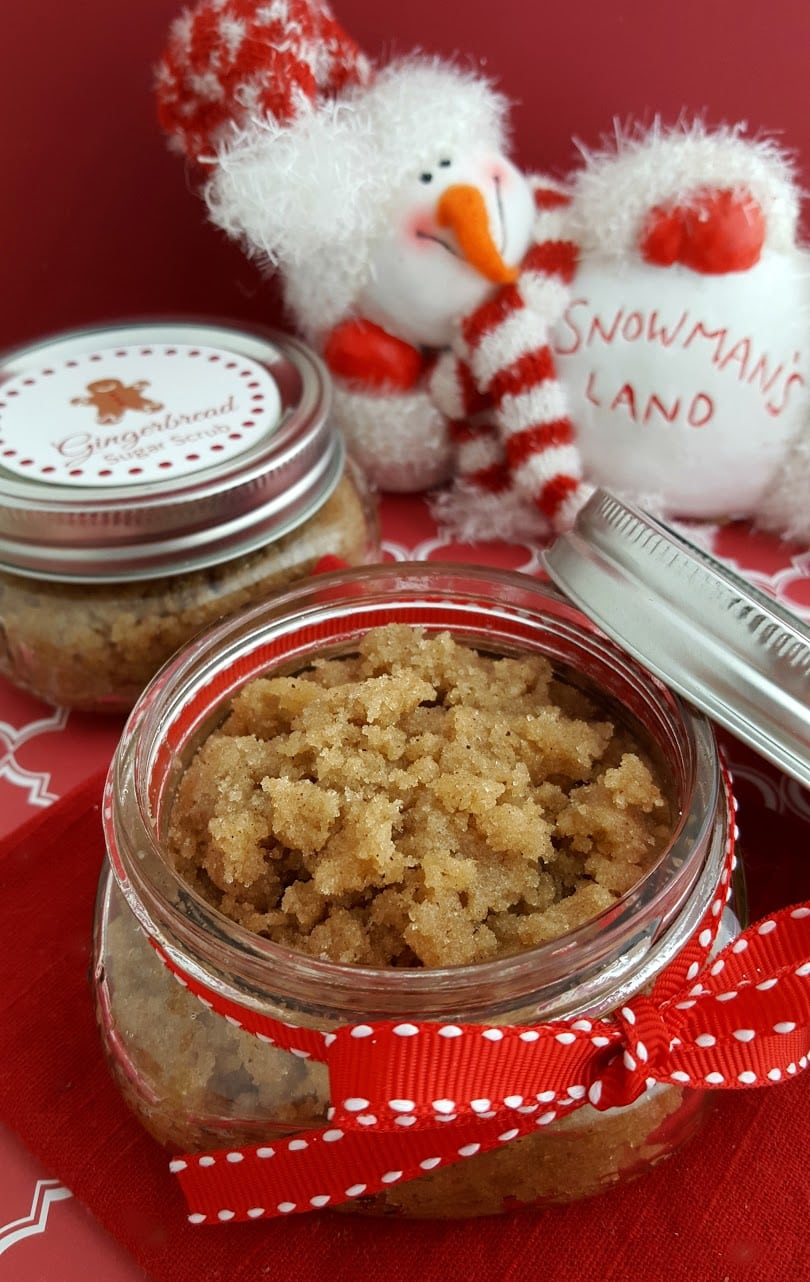 How To: DIY Gingerbread Sugar Scrub