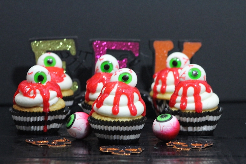 Bleeding Eye Cupcakes Recipe: Perfect For Halloween