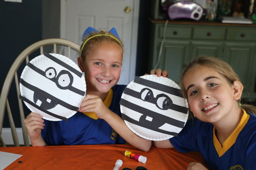 We had so much fun creating these Halloween Mummy crafts! All you need are some construction paper glue a black marker and a few paper plates.  sc 1 st  Lady and the Blog & Easy Halloween Mummy Craft For Kids: Paper Plate Fun! - Lady and ...