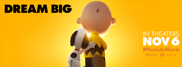 The Peanuts Movie Is Coming To Theaters in 3D November 6th!!!! #PeanutsMovie