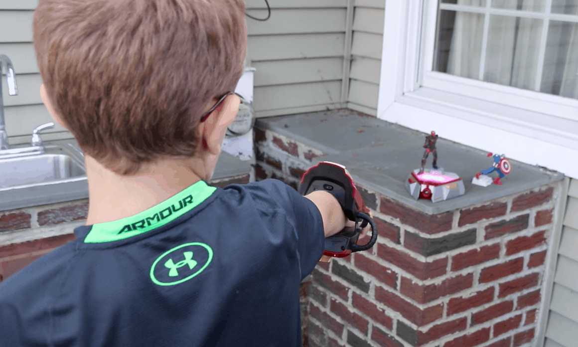 Disney's Playmation Red Skull First Battle @Playmation