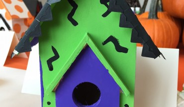Haunted Halloween Houses: DIY Craft With Woman's Day