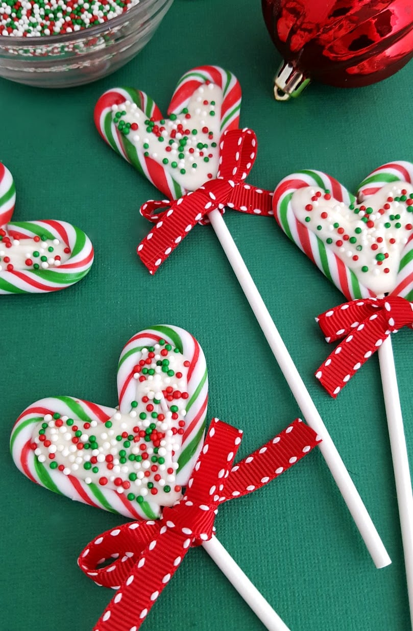 Candy Cane Heart Pops Recipe