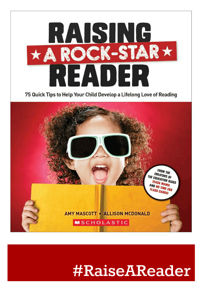 Raising A Rock-Star Reader Is Out Today To Help You Get Your Kids Reading!!! #RaiseAReader