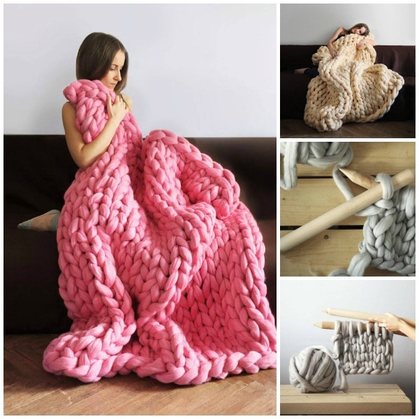 Chunky Wool Throw Knitting Pattern : How To Be A Decent Human Being In 2016 - Lady and the Blog