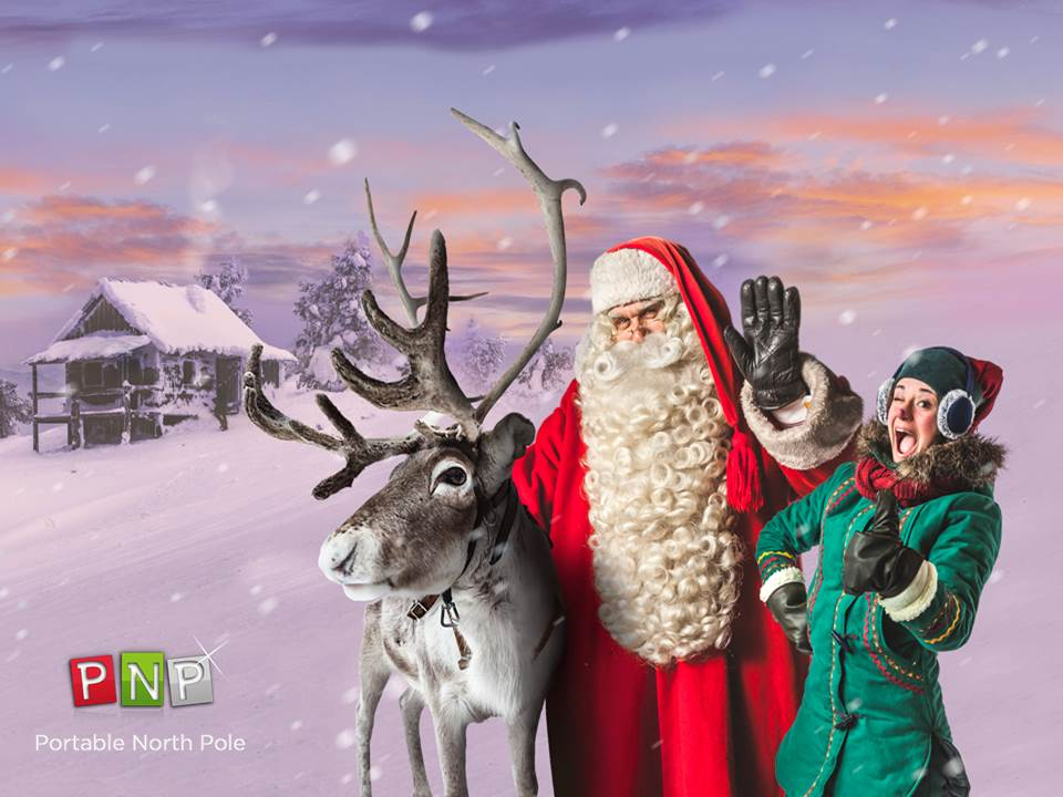 Begin A Magical Christmas Family Tradition With Portable North Pole