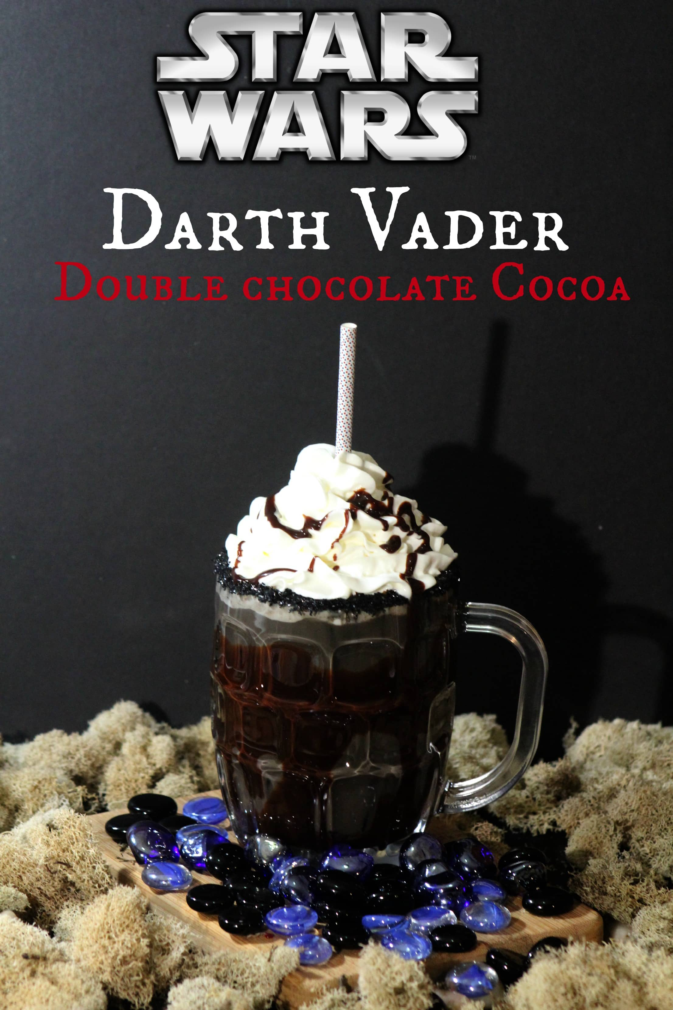 Star Wars Fans! Darth Vader Double Chocolate Cocoa Recipe #TheForceAwakens