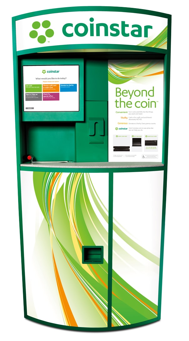 coinstar gift card locations turn loose change and gift cards into cash with coinstar 4582