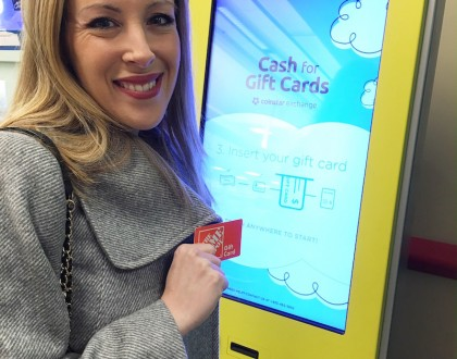Have Unwanted Gift Cards? Trade Them For Cash With Coinstar Exchange @Coinstar
