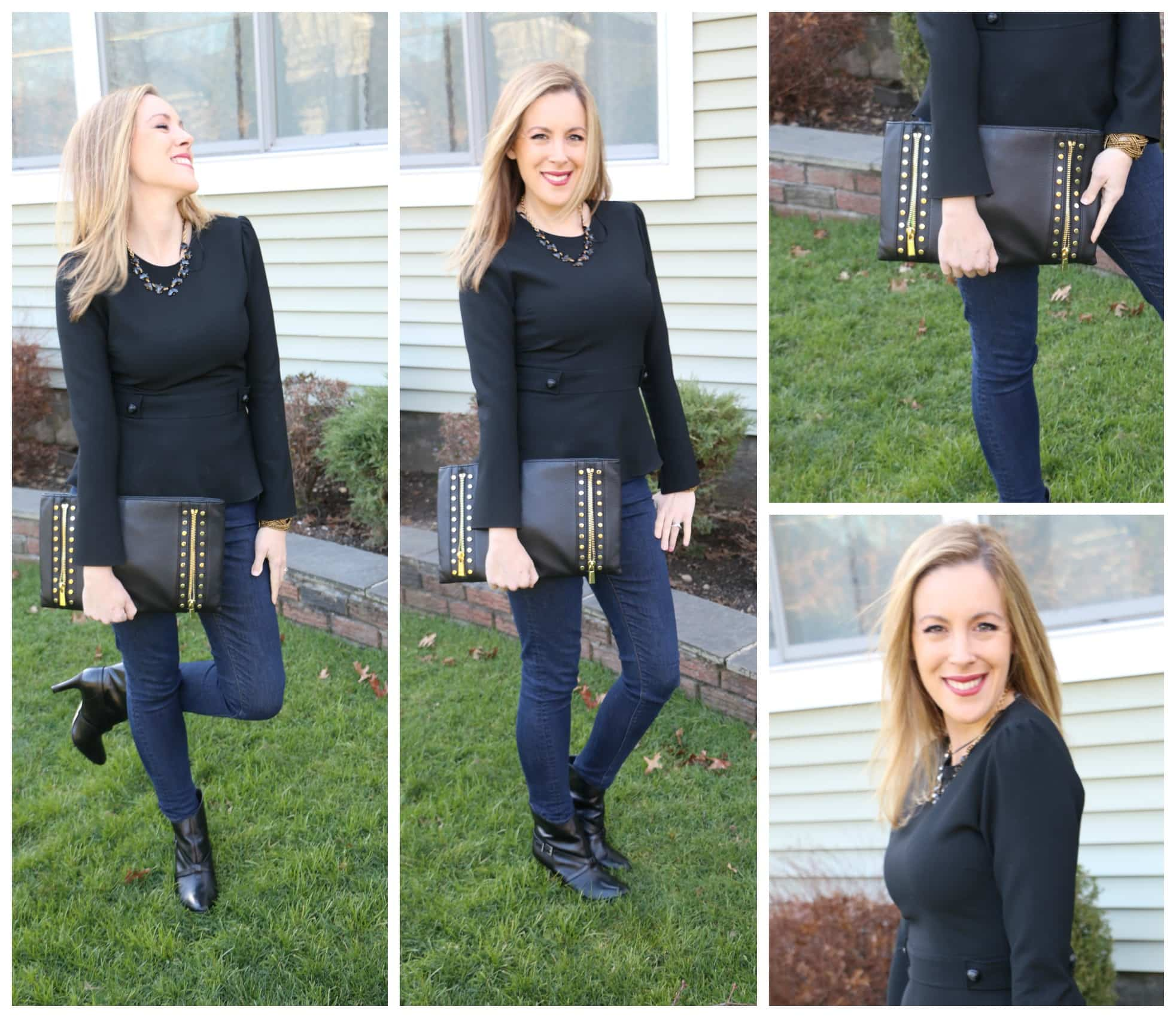 What She Wore: Lady In Black