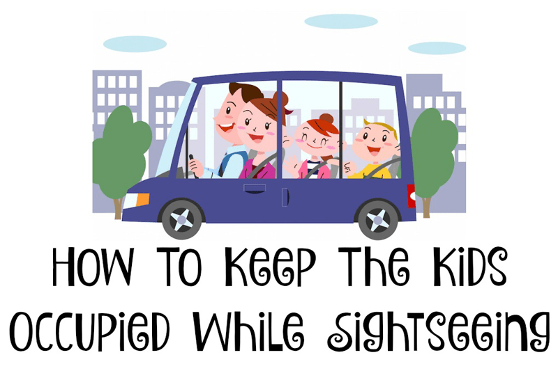How To Keep The Kids Occupied While Sightseeing #AlamoDriveHappy