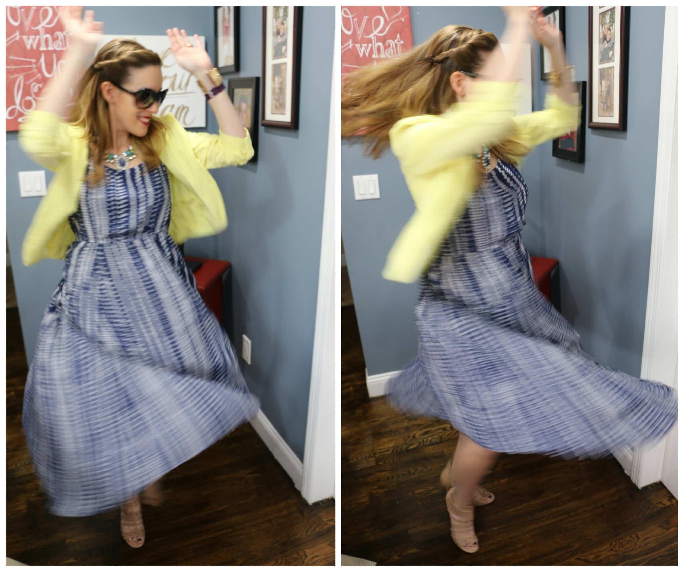 What She Wore: Cabi Margherita Dress