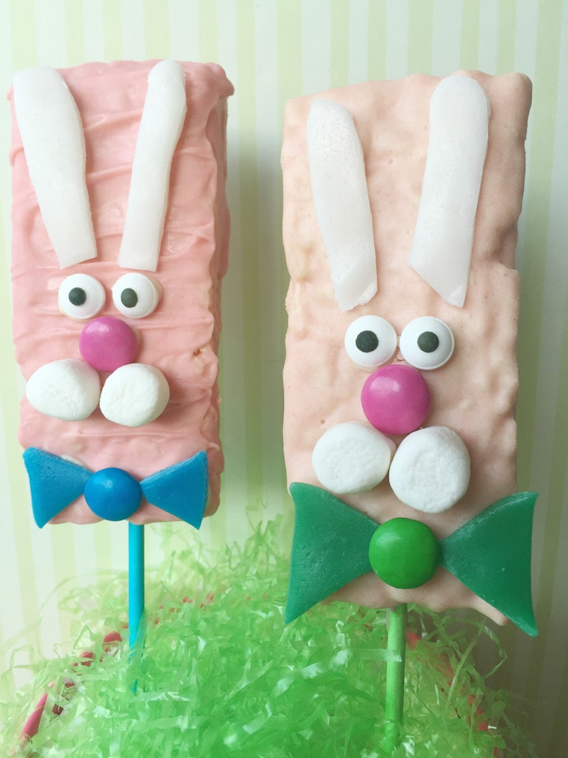 DIY Rice Krispie Bunny Bars: Perfect For Easter