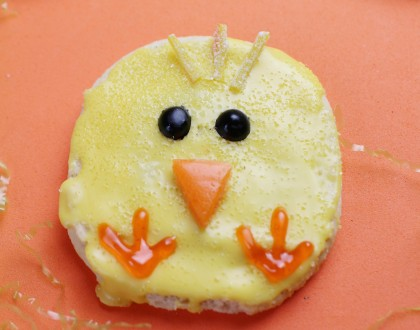 Easter Chick Sugar Cookies Recipe