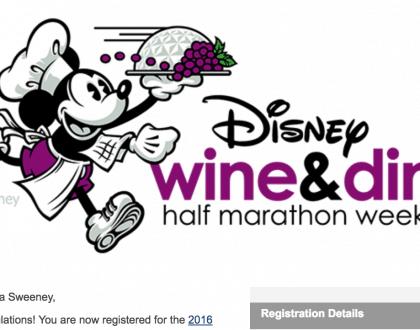 I'm Registered For The Disney Wine & Dine Half Marathon: Here's Why