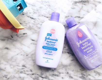 A New Mom's Guide To Creating A Bedtime Routine For Baby @johnsonsbaby