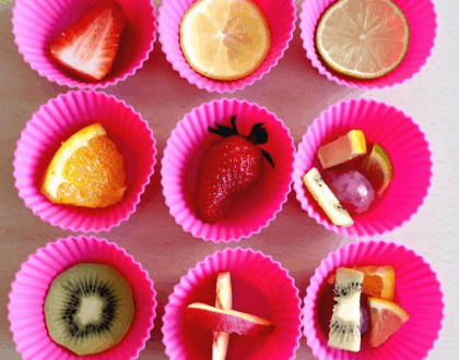 Fresh Fruit Ice Cubes: Perfect For Summer