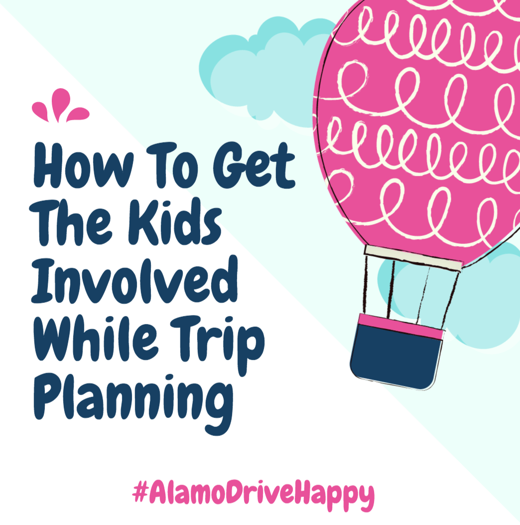 How To Get The Kids Involved While Trip Planning
