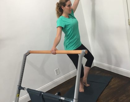 Added Fluidity To My Office: At Home Barre Classes Are Amazing!