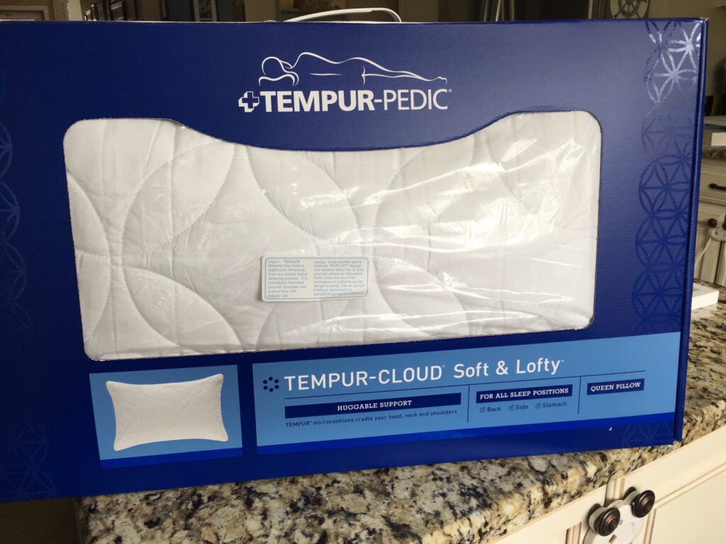 Enter To Win 1 Of 3 Tempur Cloud Soft Amp Lofty Pillows