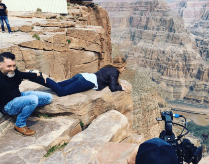 That Time I Walked The Grand Canyon Skywalk In Arizona (VIDEO) #skexperts