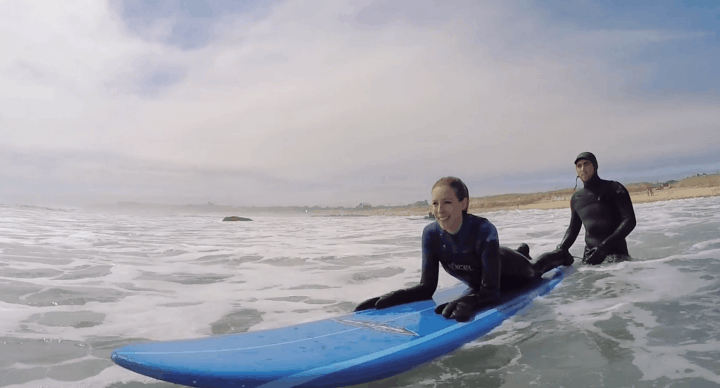 The Entire Family Went Surfing... And We Caught It All On Video