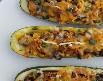 Mexican Zucchini Burrito Boats Recipe