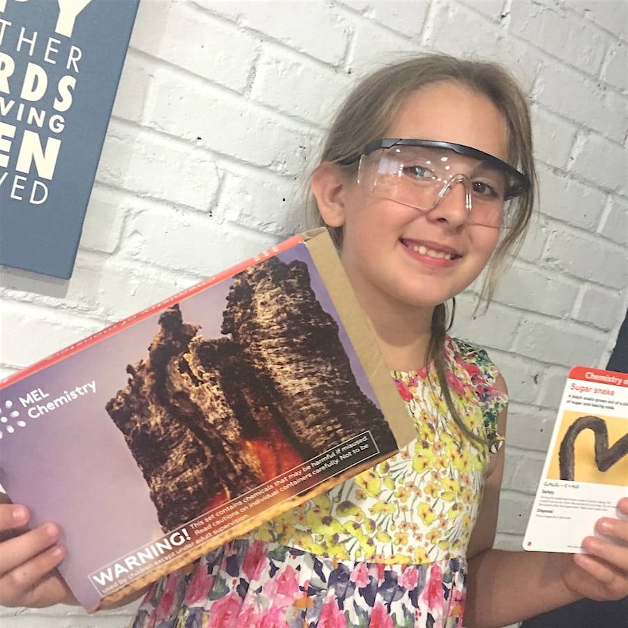 The Chemistry Kit From MEL Science Is Perfect For Getting Your Kids Excited and In The Mood To Learn!