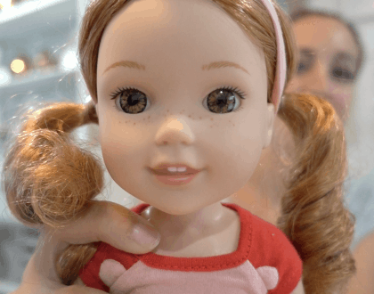 American Girl Introduces Wellie Wishers Doll Line: Here's Willa