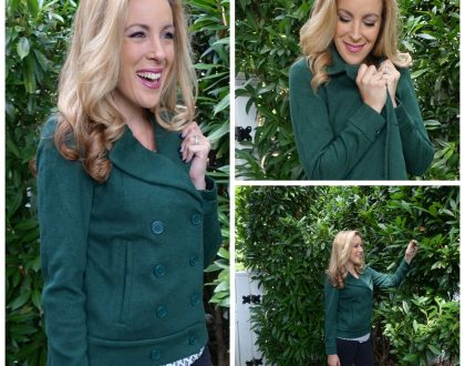 All About The Cabi Sweater Pea Coat