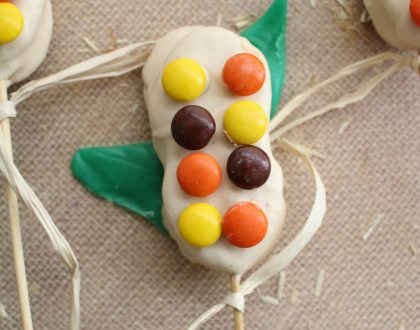 Candy Corn Stalks Recipe: Great Fall Dessert