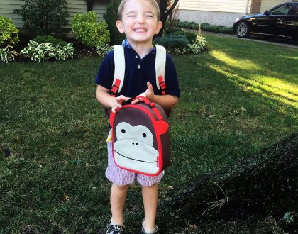 Starting Nursery School With A Skip Hop School Bag And Lunch Box @skiphop