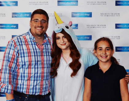 Meeting Megan Trainor At Her #UntouchableTour #WearWhatYouWant