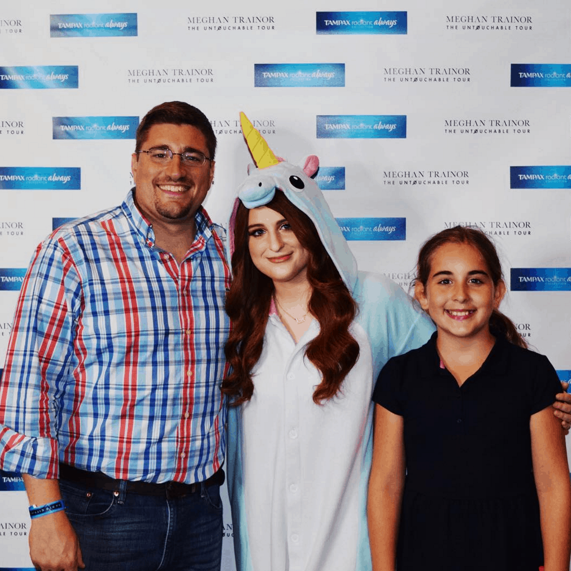 Meeting Meghan Trainor At Her #UntouchableTour #WearWhatYouWant
