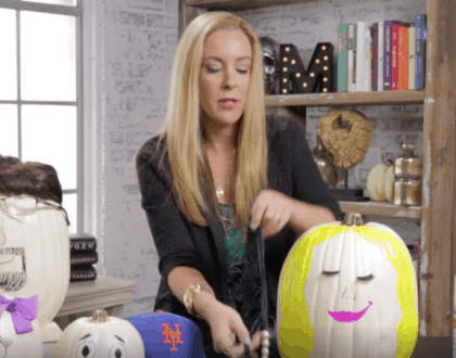No Carve Pumpkin Ideas For Halloween