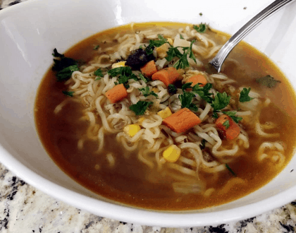 Do It Yourself Ramen Noodle Soup Recipe