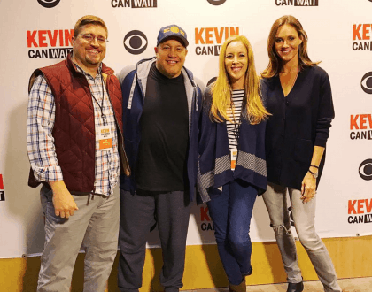 Kevin Can Wait Set Tour And Cast Interviews @KevinCanWaitCBS #KevinCanWait