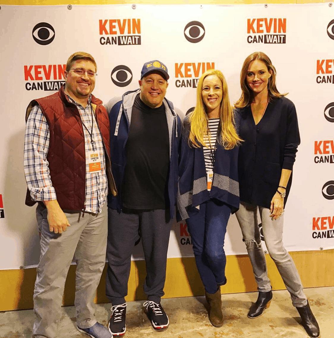 Kevin Can Wait Set Tour And Cast Interviews @KevinCanWaitCBS #KevinCanWait