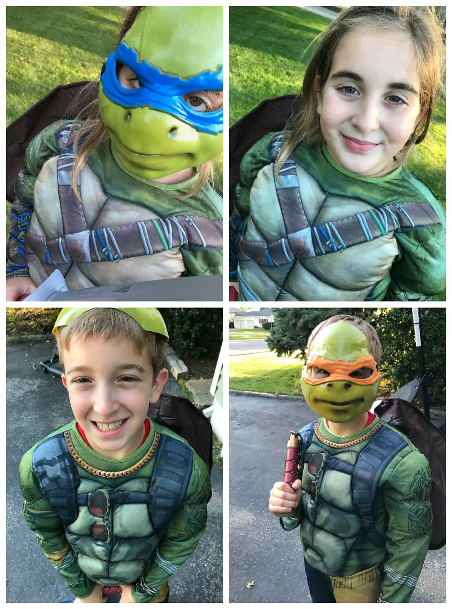 Teenage Mutant Ninja Turtle Halloween Costumes For Everyone #Target #TMNT