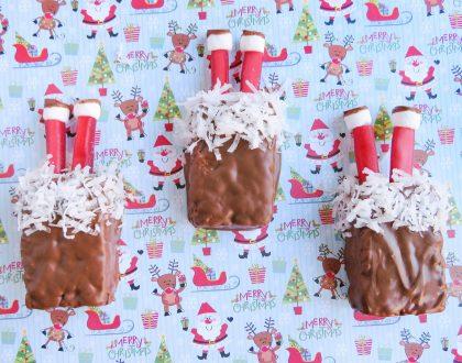 Santa's Stuck In The Chimney Treats Recipe