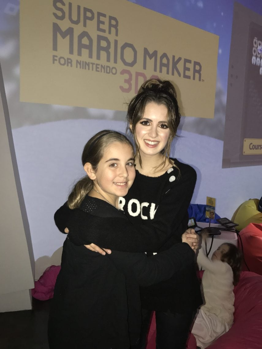 Girls Can Game Event With Nintendo And Laura Marano #3dsMyWay