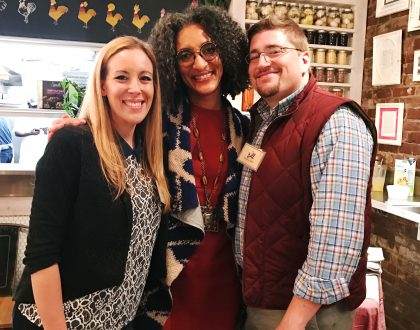Enjoyed A Delicious Meal With Carla Hall And ALDI @ALDIUSA