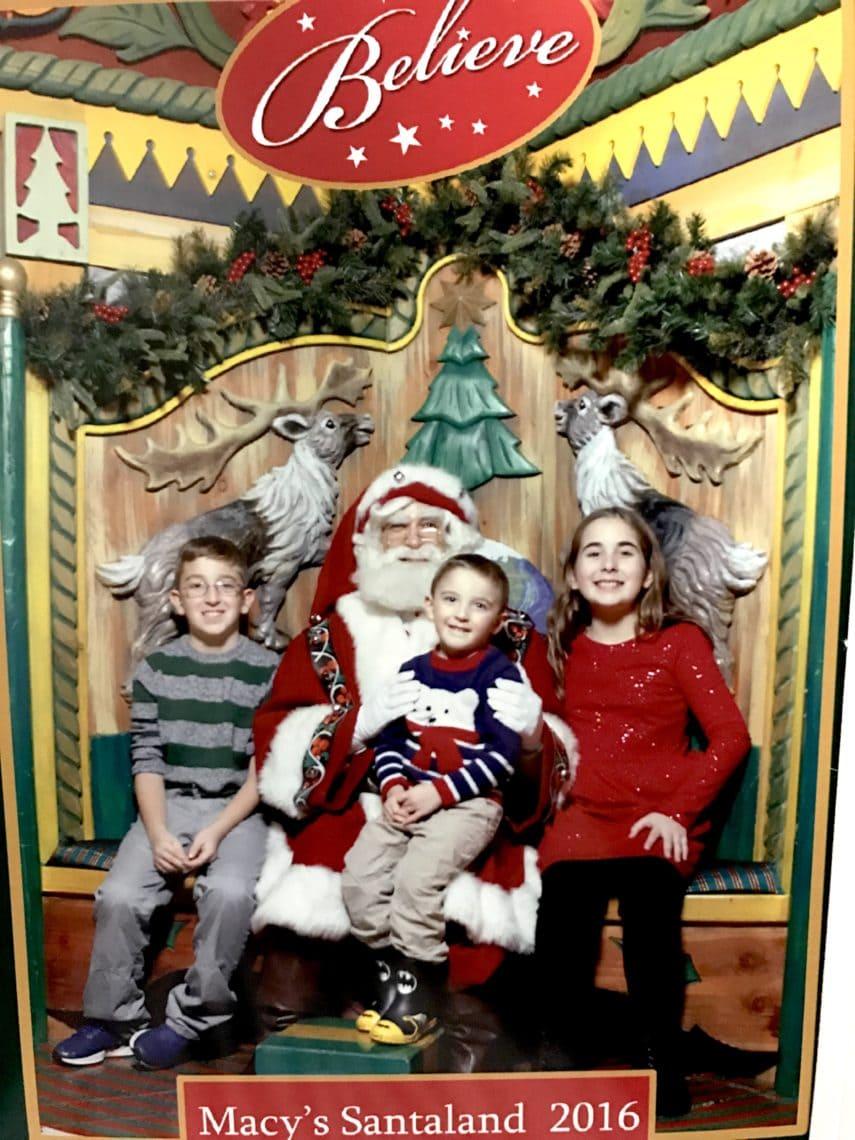 A Visit To Santa At Macy's On 34th Street