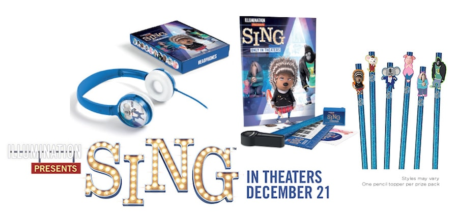 Sing Movie Holiday Prize