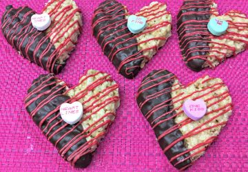 Valentine's Day Recipe: Chocolate Rice Krispies Hearts