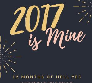 2017 is mine poem