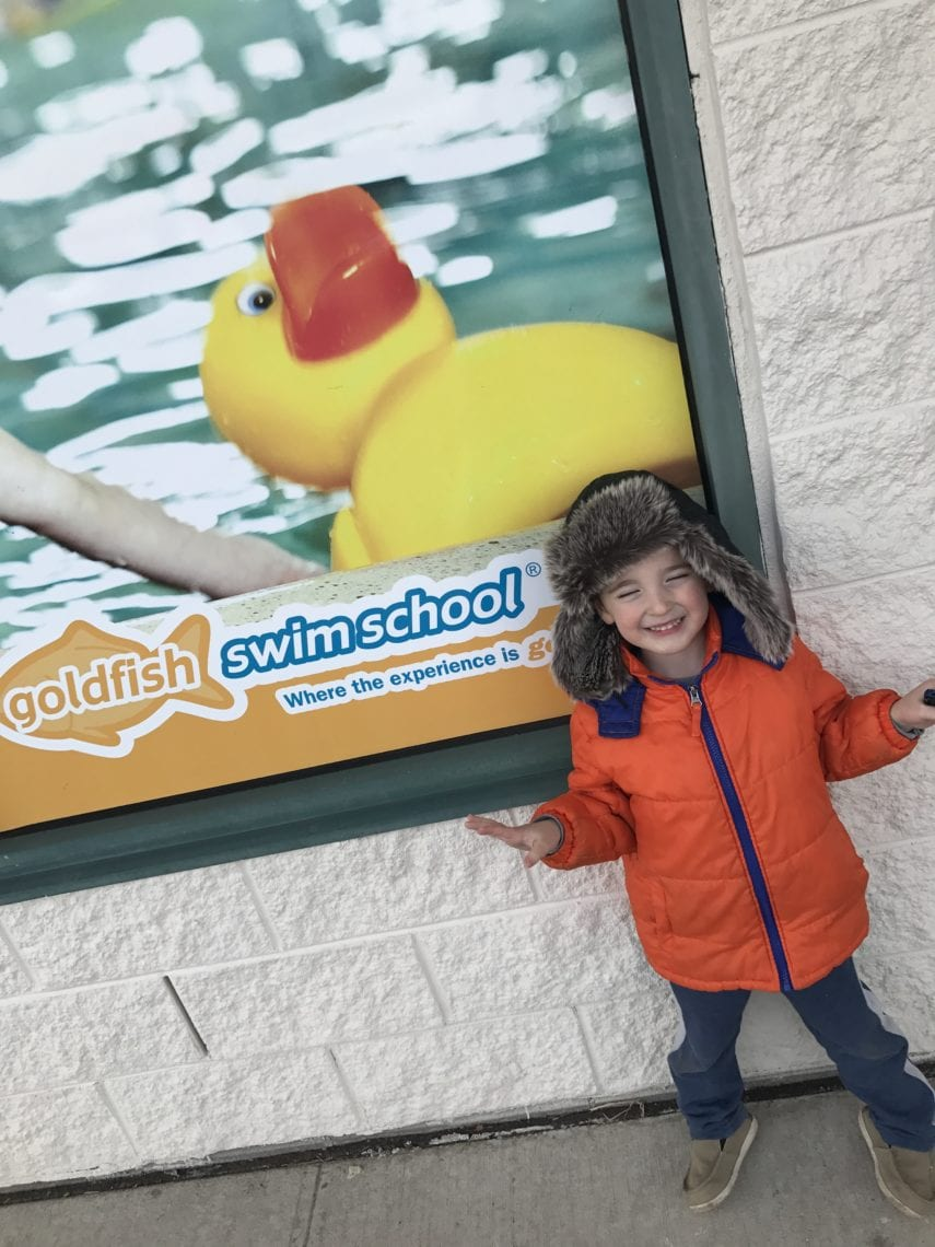 Goldfish Swim School Keeps My Son Kicking