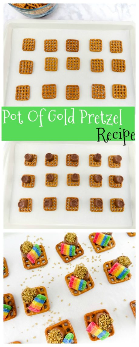 pot of gold pretzel recipe for st patrick u0027s day fun for the kids