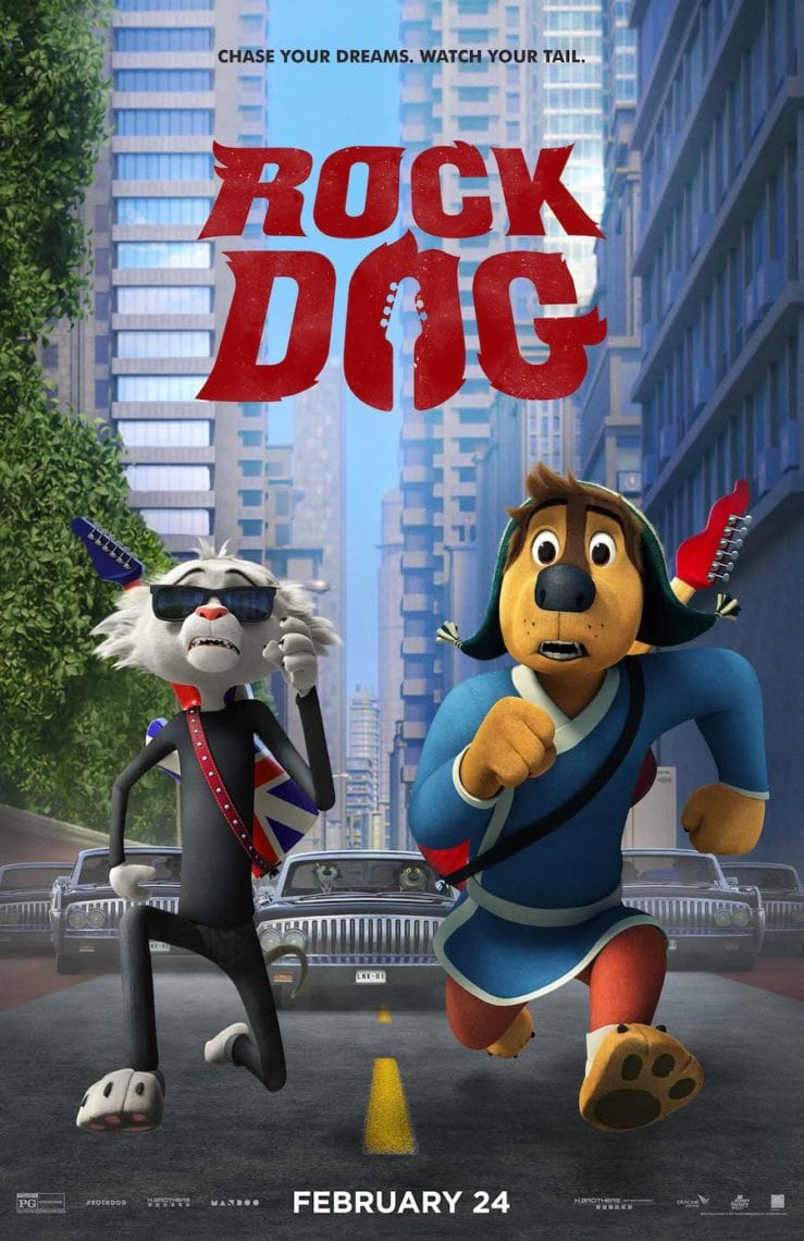 Rock Dog Movie