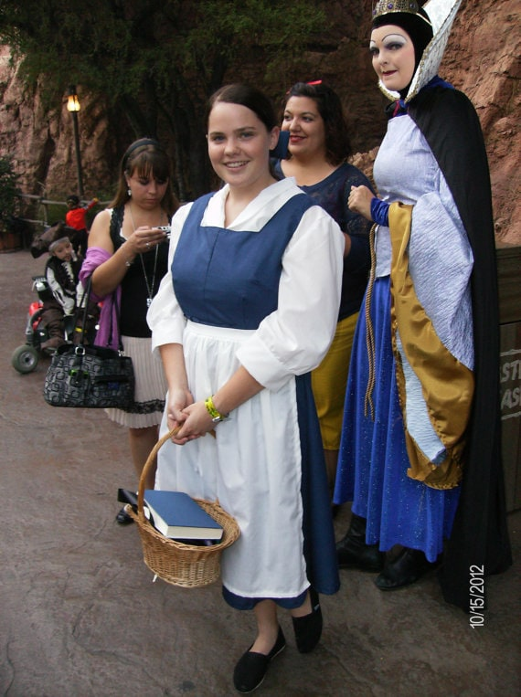 Belle from Beauty And The Beast Cosplay Ideas